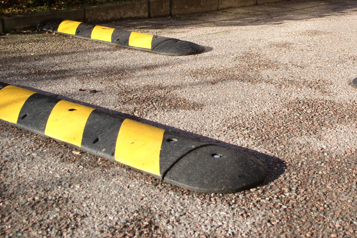 How Speed Bumps Can Damage Your Vehicle
